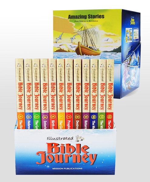 Amazing Stories Illustrated Bible Journey Set