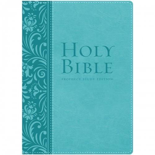 NKJV Prophecy Study Bible (Teal Leathersoft)