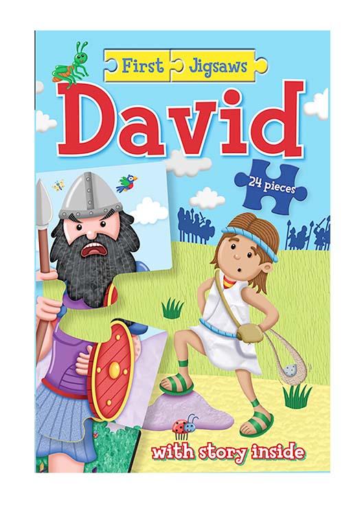 First Jigsaws: David by Kregel Publications