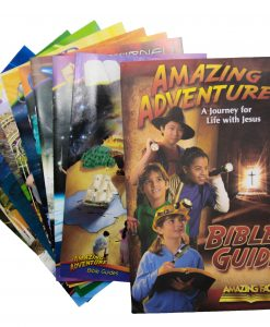 Amazing Adventure Bible Study Guide Set for Kids