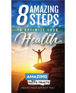 8 Amazing Steps to Optimize Your Health (100 sharing tracts)