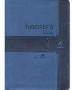 Disciples Bible - NKJV Chain Reference Soft Leather Blue