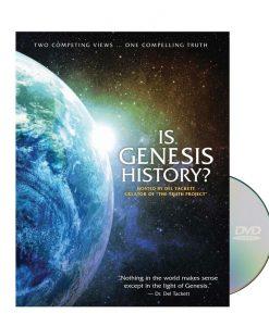 Is Genesis History? DVD by Del Tackett
